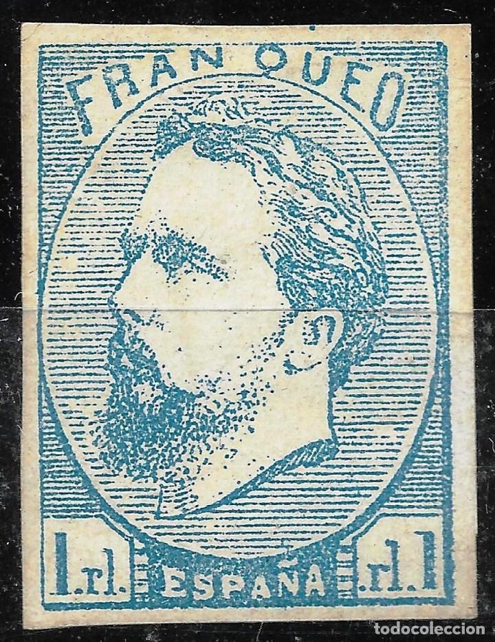AÑO 1873. EDIFIL 156 NUEVO.CORREO CARLISTA.CERTIFICADO COMEX.VC 795 EUROS (Sellos - España - Amadeo I y Primera República (1.870 a 1.874) - Nuevos)