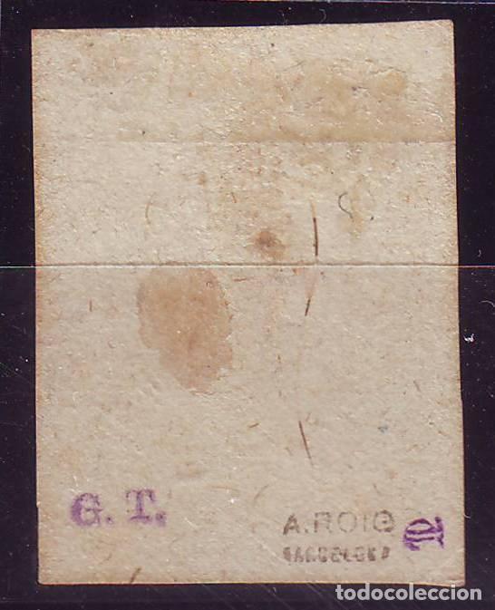 Sellos: AÑO 1873. EDIFIL 156 NUEVO.CORREO CARLISTA.CERTIFICADO COMEX.VC 795 EUROS - Foto 3 - 120991115