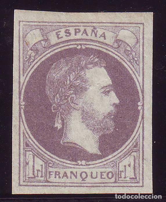 AÑO 1874. EDIFIL 158 NUEVO. CORREO CARLISTA. CERTIFICADO COMEX.. VC 450 EUROS (Sellos - España - Amadeo I y Primera República (1.870 a 1.874) - Nuevos)