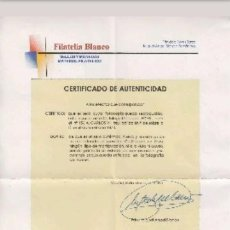 Sellos: SELLO ANTIGUO CATALOGO EDIFIL 156A CON CERTIFICADO. Lote 121449271
