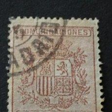 Sellos: 1874. 1 DE OCT. ESCUDO DE ESPAÑA. 10 CTS.. Lote 123036988