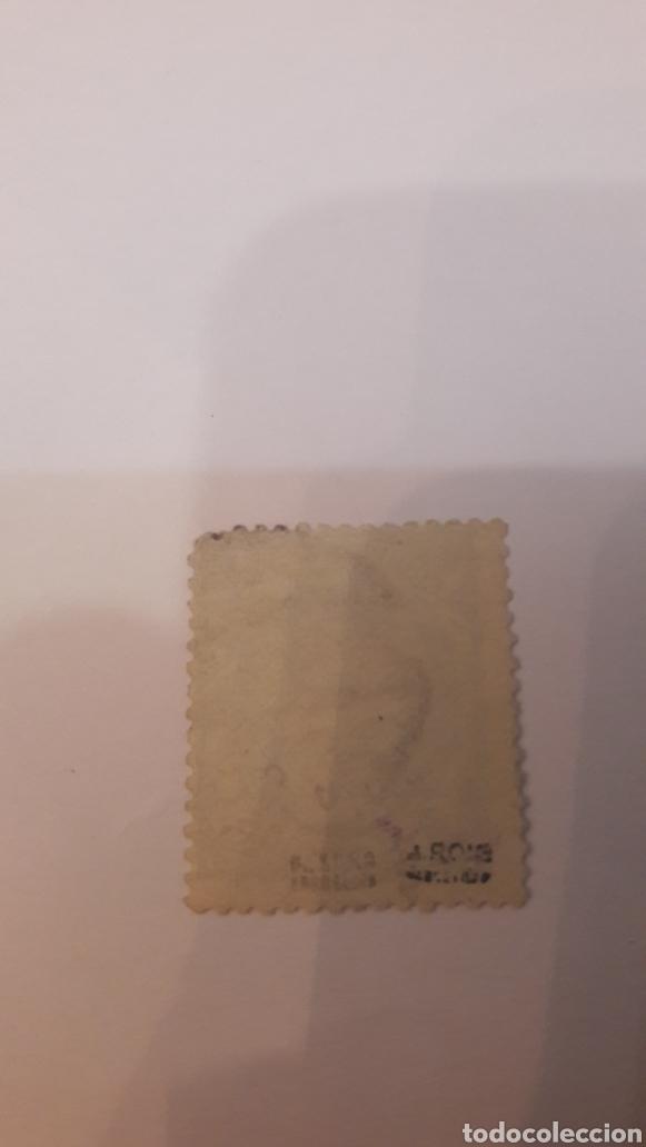 Sellos: España 1870 g .provisional n 112 2 E.usado cese. SORO - Foto 2 - 125998200