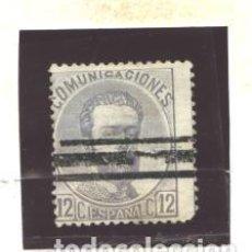 Timbres: ESPAÑA 1872 - EDIFIL NRO. 122S - AMADEO I -12C. BARRADO. Lote 128294899