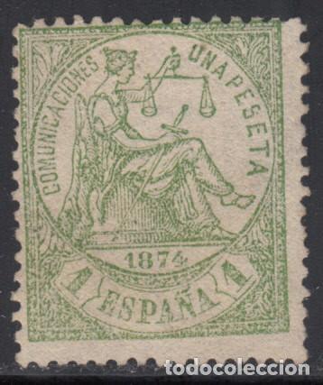 ESPAÑA,1874 EDIFIL Nº 150 / * / (Sellos - España - Amadeo I y Primera República (1.870 a 1.874) - Nuevos)