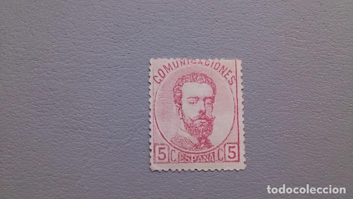 ESPAÑA - 1872 - AMADEO I - EDIFIL 118 - MH* - NUEVO - BONITO - VALOR CATALOGO 35€. (Sellos - España - Amadeo I y Primera República (1.870 a 1.874) - Nuevos)