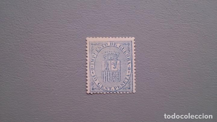 ESPAÑA - 1874 - I REPUBLICA - EDIFIL 142 - CENTRADO - MNG - NUEVO - ESCUDO DE ESPAÑA. (Sellos - España - Amadeo I y Primera República (1.870 a 1.874) - Nuevos)