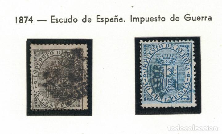 Sellos: 4 sellos de la I república y uno de Amadeo - Foto 3 - 138250894