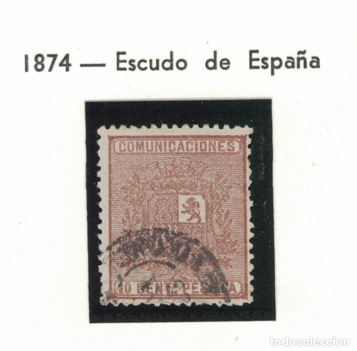 Sellos: 4 sellos de la I república y uno de Amadeo - Foto 4 - 138250894
