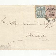 Sellos: CIRCULADA 1875 DE SANTANDER A MADRID. Lote 138770714
