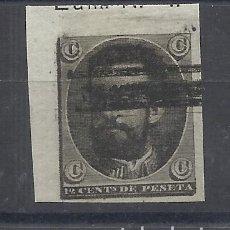Sellos: AMADEO DE SEVOLLA 1872 NO EMITIDO BARRADO. Lote 139193366