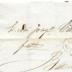 Sellos: EDIFIL 107. ENVUELTA DE LERIDA A BARCELONA. 4-SET-1872. Lote 141195438