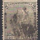 Sellos: ESPAÑA 1873 EDIFIL 134 USADO - 1/6. Lote 142990622