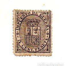 Sellos: 1874 - ESPAÑA - 1ª REPUBLICA- EDIFIL Nº 141 NUEVO. Lote 143434458