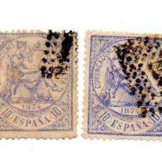 Sellos: 1874 - ESPAÑA - 1ª REPUBLICA- EDIFIL Nº 145 USADO. Lote 143442326