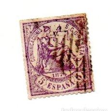 Sellos: 1874 - ESPAÑA - 1ª REPUBLICA- EDIFIL Nº 144 USADO. Lote 143445070