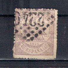 Selos: ESPAÑA 1874 EDIFIL 148 USADO MAT. FRANCES MARSELLA - 2/1. Lote 144603998
