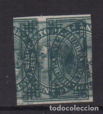 1870 - 1876 PRUEBAS O ERRORES DE IMPRESIÓN 1ER CENTENARIO RRR RARO (Sellos - España - Amadeo I y Primera República (1.870 a 1.874) - Nuevos)