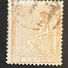 Sellos: MICHEL ES 125 - SPAIN - ALEGORÍA DE LA REPÚBLICA - 1873. Lote 145669306