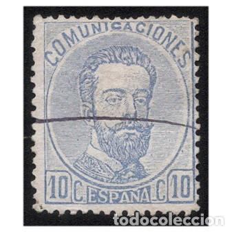 ESPAÑA 1872. EDIFIL 121. AMADEO I. USADO (Sellos - España - Amadeo I y Primera República (1.870 a 1.874) - Usados)