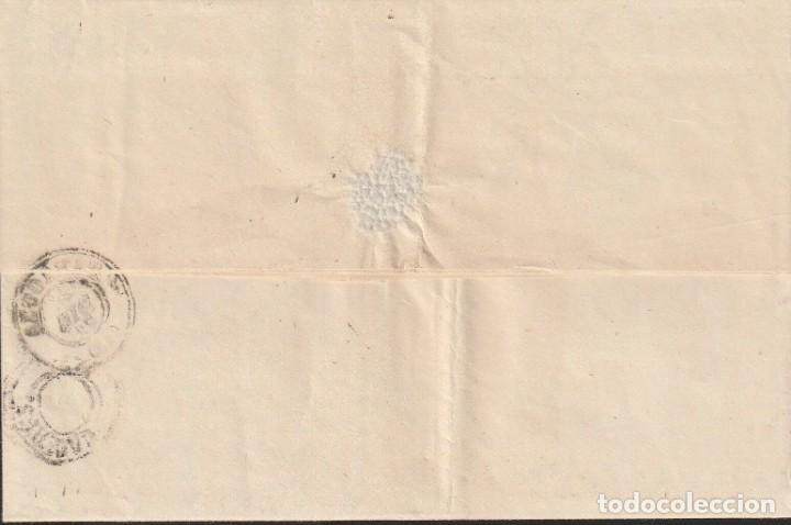 Sellos: ZARAGOZA - DOBLE PORTE - 1871 - 24 DICIEMBRE - MATASELLO DOBLE ROMBO REJILLA AMBULANTE - Foto 2 - 148834106