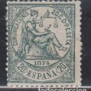 Sellos: ESPAÑA, 1874 EDIFIL Nº 146 /*/,. Lote 149392710