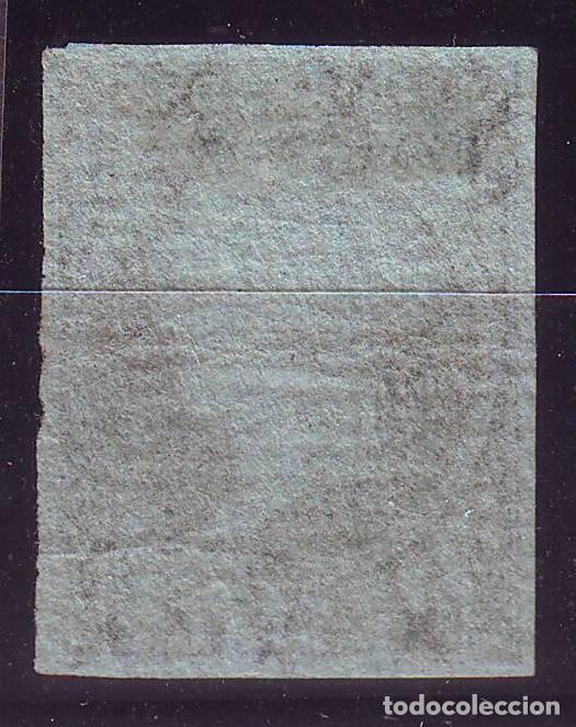 Sellos: AÑO 1855. EDIFIL 41 NUEVO LUJO.PAPEL AZULADO CON FILIGRANA LAZOS . VC 1675. SIN DEFECTOS - Foto 2 - 149678818
