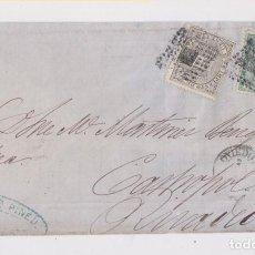 Sellos: FRONTAL DE OVIEDO, ASTURIAS, A RIBADEO. IMPUESTO DE GUERRA. Lote 149887798