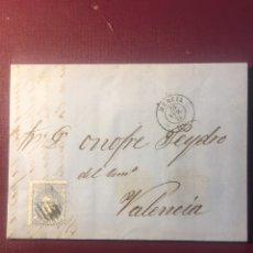 Sellos: CARTA FILATELICA,(MURCIA 1871).. Lote 152971556