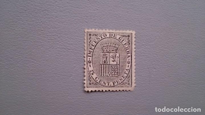ESPAÑA - 1874 - I REPUBLICA - EDIFIL 141 - MNG - NUEVO - CENTRADO - ESCUDO DE ESPAÑA. (Sellos - España - Amadeo I y Primera República (1.870 a 1.874) - Nuevos)