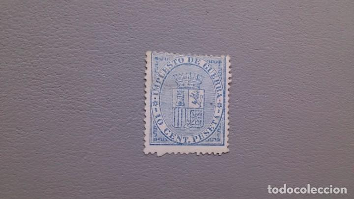 ESPAÑA - 1874 - I REPUBLICA - EDIFIL 142 - MH* - NUEVO - ESCUDO DE ESPAÑA. (Sellos - España - Amadeo I y Primera República (1.870 a 1.874) - Nuevos)