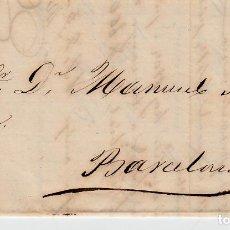 Sellos: CARTA COMPLETA CON SELLO NUM. 121 DE FERNANDO NAVARRO EN TORTOSA - 1873. Lote 156723970