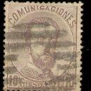 Sellos: EDIFIL 120 (º) CORONA, CIFRAS Y AMADEO I 1872 NL071. Lote 160406282
