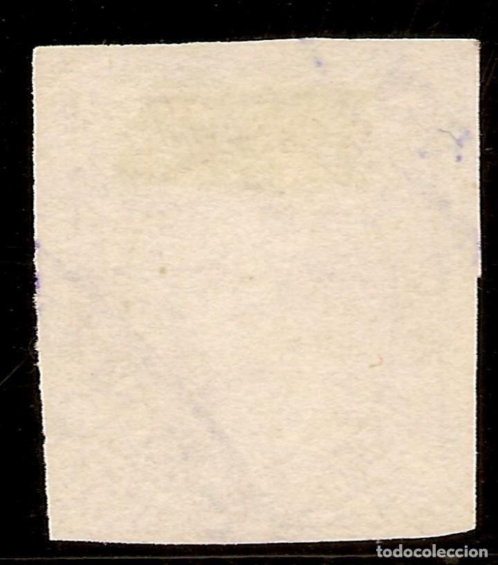 Sellos: España Edifil 159 (º) Tipo I 1/2 Real Rosa Carlos VII 1874 NL916 - Foto 2 - 160414242