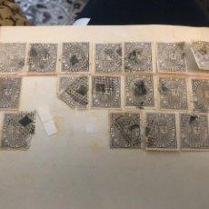 Sellos - Sellos impuesto de guerra años 1874 - 162182065