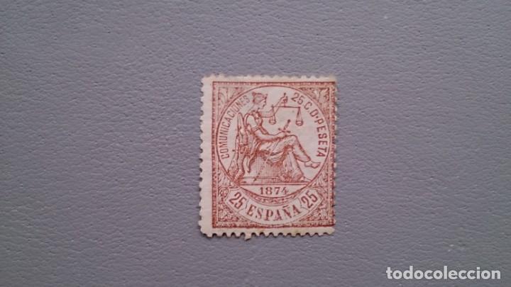 ESPAÑA - 1874 - I REPUBLICA - EDIFIL 147 - MH* - NUEVO - VALOR CATALOGO 53€. (Sellos - España - Amadeo I y Primera República (1.870 a 1.874) - Nuevos)