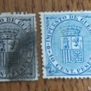 Sellos: ESPAÑA: N°141/42 USADA.. Lote 166833802