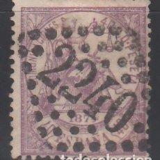 Sellos: ESPAÑA, 1874 EDIFIL Nº 148 , MATASELLOS FRANCES,. Lote 168518104
