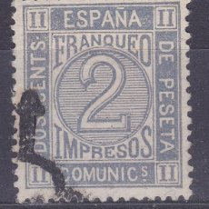 Francobolli: MM20- CLÁSICOS EDIFIL 116. MATASELLOS ARAÑA . LUJO. Lote 168679596