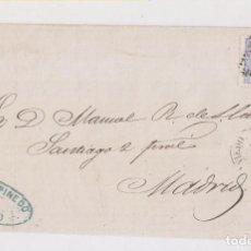 Selos: ENVUELTA. OVIEDO, ASTURIAS. A MADRID. 1872. MATRONA. Lote 170561120