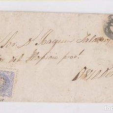Selos: ENVUELTA. NAVIA, ASTURIAS. MATRONA. 1871. Lote 170562788