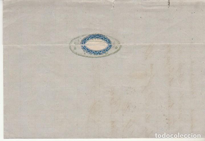 Sellos: Sellos 133 y 141. I REPÚBLICA. VALLS (TARRAGONA) a BARCELONA.1874. - Foto 2 - 172069773