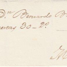 Sellos: ENVUELTA CON SELLO NUM. 107 CE MONTANCHEZ -CÁCERES- CON MATASELLOS DE ROMBO Y FECHADOR.. Lote 172167507