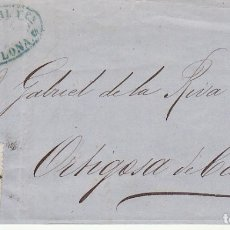 Sellos: FRAGMENTO : SELLO 121. AMADEO I. BARCELONA A ORTIGOSA DE CAMEROS.1872.. Lote 172406249