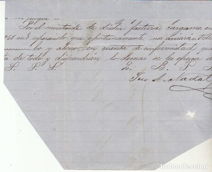Sellos: FRAGMENTO : Sello 121. AMADEO I. BARCELONA a ORTIGOSA DE CAMEROS.1872. - Foto 2 - 172406249