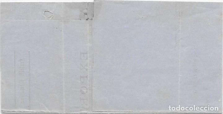 Sellos: ITALIA. MATRONA. CORREO MARITIMO. EDIFIL 107. ENVUELTA CIRCULADA DE CADIZ A GENOVA 1871 - Foto 2 - 172640213