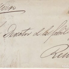 Sellos: SELLO 130A. I REPÚBLICA. BARCELONA A REUS. 1875.. Lote 172705487