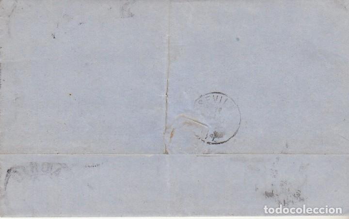 Sellos: Sellos 141 y 145. I REPÚBLICA. MADRID a SEVILLA. 1874. - Foto 2 - 172707637