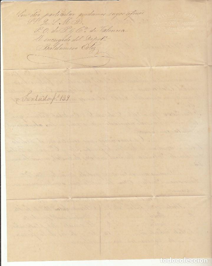 Sellos: Sellos 141 y 145. I REPÚBLICA. VALENCIA a SEVILLA. 1874. - Foto 5 - 172846198