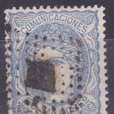 Sellos: CC20- CLÁSICOS EDIFIL 107 . FALSO POSTAL TIPO V GRAUS.LUJO. Lote 173100795
