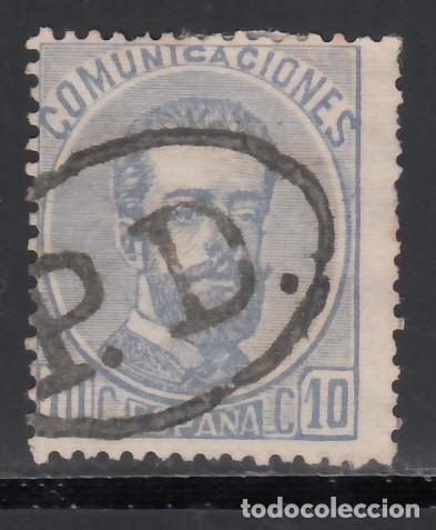 ESPAÑA,1872 EDIFIL Nº 121, MARCA POSTA FRANCESA, *PAYÉ DESTINATION* (Sellos - España - Amadeo I y Primera República (1.870 a 1.874) - Usados)